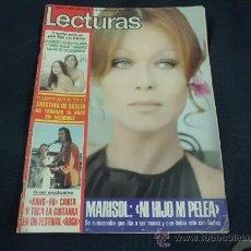Coleccionismo de Revistas: REVISTA LECTURAS AÑO 1979 PORTADA MARISOL . Lote 31837287