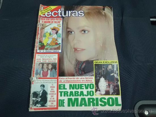 REVISTA LECTURAS AÑO 1979 PORTADA MARISOL (Coleccionismo - Revistas y Periódicos Modernos (a partir de 1.940) - Revista Lecturas)