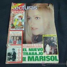 Coleccionismo de Revistas: REVISTA LECTURAS AÑO 1979 PORTADA MARISOL . Lote 31837312