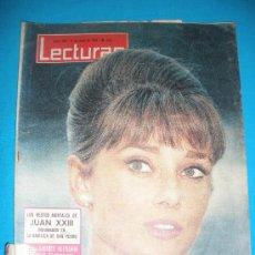 Coleccionismo de Revistas: REVISTA LECTURAS,AÑO 1963,Nº582. RESTOS JUAN XIII INHUMADOS.. Lote 33791992