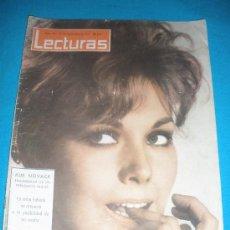 Coleccionismo de Revistas: REVISTA LECTURAS,AÑO 1963,Nº597.FESTIVAL D LA CANCION MEDITERRANEA.. Lote 33792253