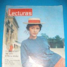 Coleccionismo de Revistas: REVISTA LECTURAS,AÑO 1964,Nº620.EN PORTADA CRISTINA KAULIMAN.. Lote 33795600