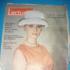 Coleccionismo de Revistas: REVISTA LECTURAS,AÑO 1964,Nº622.EN PORTADA SOFIA LOREN.. Lote 33796438