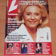 Coleccionismo de Revistas: REVISTA LECTURAS / MAYO 1994 / MARIVI DOMINGUIN,ROMINA Y ALBANO,LADY DI.. Lote 34101028