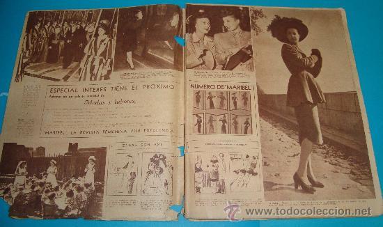 Coleccionismo de Revistas: REVISTA ARGENTINA MARIBEL AÑO1947, MODA, ENTREVISTAS, ANUNCIOS DE LA EPOCA - Foto 2 - 35002091