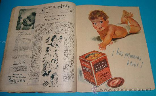 Coleccionismo de Revistas: REVISTA ARGENTINA MARIBEL AÑO1947, MODA, ENTREVISTAS, ANUNCIOS DE LA EPOCA - Foto 3 - 35002091