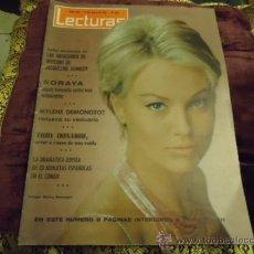 Coleccionismo de Revistas: REVISTA LECTURAS AÑO 1965 SORAYA, MYLENE DEMONGEOT, TROY DONAHUE, . Lote 35487465