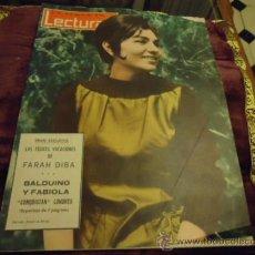 Coleccionismo de Revistas: REVISTA LECTURAS AÑO 1963 N 579 FARAH DIBA , BALDUINO Y FABIOLA, FARAT DE PERSIA. Lote 35487576