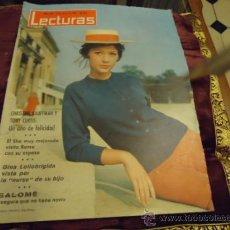 Coleccionismo de Revistas: REVISTA LECTURAS AÑO 1964 N 620 SALOME, GINA LOLLOBRIGIDA, SHA , CHRISTINE KAUFFMAN. Lote 35487650