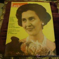 Coleccionismo de Revistas: REVISTA LECTURAS AÑO 1963 N 590 , LOS REYES DE BELGICA, FRED ASTAIRE, ALEJANDRA DE KENT. Lote 35487693