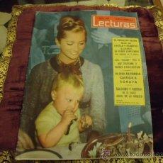 Coleccionismo de Revistas: REVISTA LECTURAS AÑO 1961 N 498 . Lote 35487698