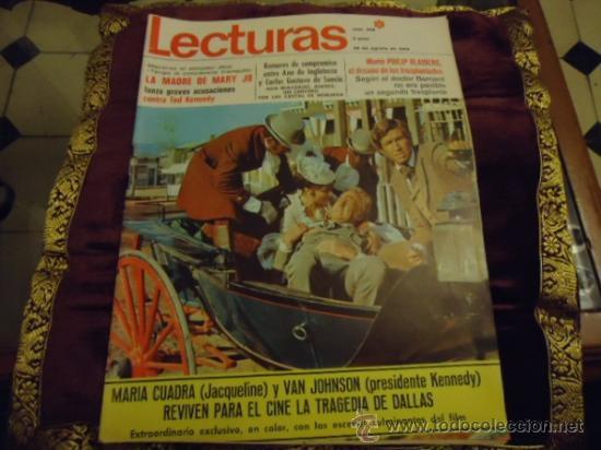 REVISTA LECTURAS AÑO 1969 N 906 (Coleccionismo - Revistas y Periódicos Modernos (a partir de 1.940) - Revista Lecturas)