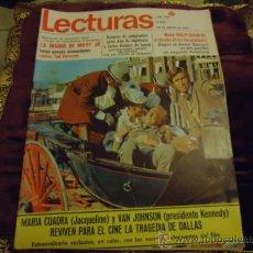 Coleccionismo de Revistas: REVISTA LECTURAS AÑO 1969 N 906 . Lote 35487760