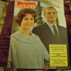 Coleccionismo de Revistas: REVISTA LECTURAS AÑO 1961 N 508 PROXIMA BODA JUAN CARLOS DE BORBON CON SOFIA DE GRECIA. Lote 35487776