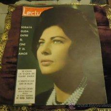 Coleccionismo de Revistas: REVISTA LECTURAS AÑO 1963 N 592 SORAYA, CLARK GABLE, WALTER CHIARI, . Lote 35487782