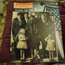 Magazine Collection - REVISTA LECTURAS AÑO 1963 N 607 JACKIE YA NO SONRIE - 35487804