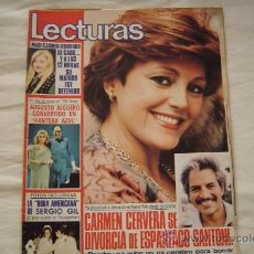 Coleccionismo de Revistas: REVISTA LECTURAS.. Lote 35520334