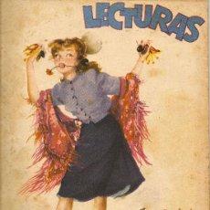 Coleccionismo de Revistas: LECTURAS 1948 Nº 281 - ILUSTRADO POR RIERA ROJAS. Lote 36402591