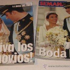 Coleccionismo de Revistas: ESPECIAL LECTURAS Y SEMANA 2004 BODA REAL. Lote 33561170