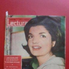 Coleccionismo de Revistas: LECTURAS Nº 492 01/02/1961 JACQUELINE KENNEDY - ADOLFO MARSILLACH - KIRK DOUGLAS - GRACE DE MONACO. Lote 36525991