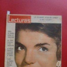 Coleccionismo de Revistas: LECTURAS Nº 562 25/01/1963 JACQUELINE KENNEDY - KIM NOVAK - SOFIA LOREN - SORDI. Lote 36526237
