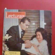 Coleccionismo de Revistas: LECTURAS Nº 611 03/01/1964 BAUTIZO DE LA INFANTA ELENA - PACO RABAL - RAMON CALDUCH. Lote 36941540