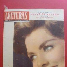 Coleccionismo de Revistas: LECTURAS Nº 395 15/01/1957 FELICIA TARR - ELVIS PRESLEY - DALÍ - JEAN SEBERG - DIANA DORS. Lote 36991033