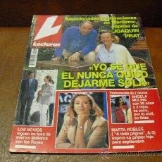 Coleccionismo de Revistas: REV. LECTURAS 4/1995 MARIANNE-ESPOSA DE J.PRAT AMPLIO RPTJE.ANA OBREGON,LOLA FLORES,LIDIA BOSCH. Lote 38383731