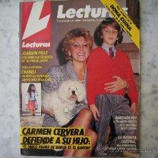 Coleccionismo de Revistas: LECTURAS,DALI,LA VIDA DE UN GENIO Y VISITA DEL REY-EL PRECIO JUSTO-STAKY KEACH-CARMEN CERVERA. Lote 39273077