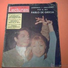Coleccionismo de Revistas: REVISTA LECTURAS Nº 621 - 13 MARZO 1964 - MARISOL Y ANTONIO - . Lote 39644947