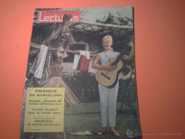 REVISTA LECTURAS Nº 583 - 21 JUNIO 1963 - MARISOL EN TIERRAS BRASILEÑAS (Coleccionismo - Revistas y Periódicos Modernos (a partir de 1.940) - Revista Lecturas)