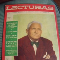 Coleccionismo de Revistas: REVISTA LECTURAS AÑO 1958 -- Nº 478. Lote 40403279
