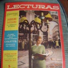Coleccionismo de Revistas: REVISTA LECTURAS AÑO 1958 -- Nº 419. Lote 40403299
