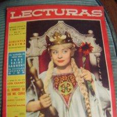 Coleccionismo de Revistas: REVISTA LECTURAS AÑO 1958 -- Nº 421. Lote 40403365
