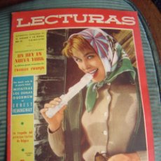 Coleccionismo de Revistas: REVISTA LECTURAS AÑO 1958 -- Nº 423. Lote 40403401