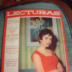 Coleccionismo de Revistas: REVISTA LECTURAS AÑO 1958 -- Nº 425. Lote 40403413