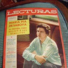 Coleccionismo de Revistas: REVISTA LECTURAS AÑO 1958 -- Nº 427. Lote 40403443