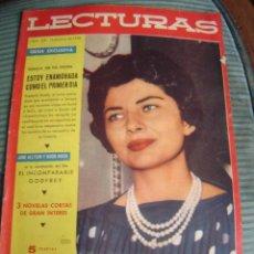 Coleccionismo de Revistas: REVISTA LECTURAS AÑO 1958 -- Nº 429. Lote 40403485