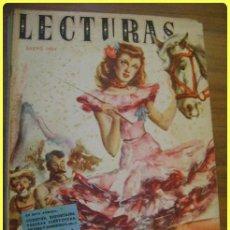 Coleccionismo de Revistas: LECTURAS REVISTA, 1950 ENERO. Lote 40881010