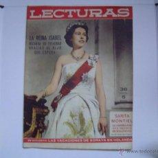 Coleccionismo de Revistas: REVISTA LECTURAS. Lote 40894356
