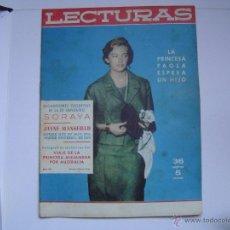 Coleccionismo de Revistas: REVISTA LECTURAS. Lote 40894394