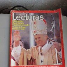Coleccionismo de Revistas: REVISTA LECTURAS. Lote 41094442