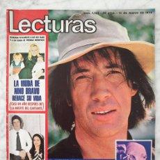 Coleccionismo de Revistas: LECTURAS - 1974 - DAVID CARRADINE, KUNG-FU, RINGO STARR, BEATLES, MARISOL, MARIBEL MARTÍN, PERET. Lote 41192557