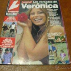Coleccionismo de Revistas: REV 7/2002.LECTURAS VERONICA RPTGE. ESTRELLA MORENTE. MARTA SANCHEZ,D.PEDROSA,A. MOLINA. Lote 41213851