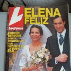 Coleccionismo de Revistas: REVISTA LECTURAS. Lote 41483117