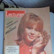 Coleccionismo de Revistas: REVISTA LECTURAS PORTADA MARISOL 1962. Lote 41483656