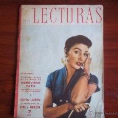 Coleccionismo de Revistas: LECTURAS - AÑO XXXIII - Nº 367 - MAYO DE 1955. Lote 41528468