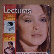 Coleccionismo de Revistas: REVISTA LECTURAS ENERO 1975.. Lote 41746260