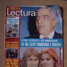 Coleccionismo de Revistas: REVISTA LECTURAS FEBRERO 1975.. Lote 41746974