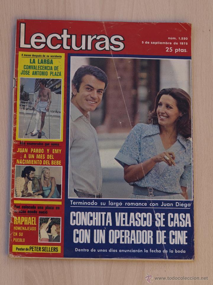 REVISTA LECTURAS SEPTIEMBRE 1975.PORTADA CONCHA VELASCO. (Coleccionismo - Revistas y Periódicos Modernos (a partir de 1.940) - Revista Lecturas)